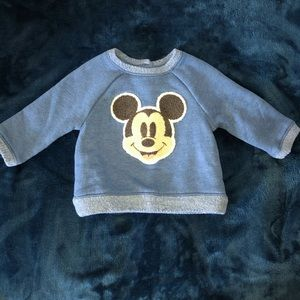 Mickey print sweater